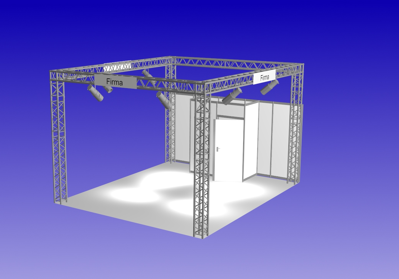 Design stand construction package REHAB Quadro